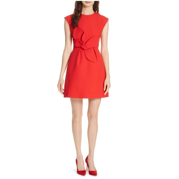 26402f6977de8 TED BAKER LONDON Polly Structured Bow Dress